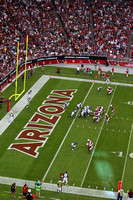 Arizona Cardinal Action at University of Phoenix Stadium.