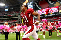 Arizona Cardinal Pre-Game Introduction of Larry Fitzgerald.