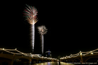 4th of July Fireworks at Tempe Town Lake 7-4-2013