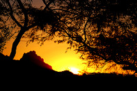 Camelback Mountain at Sunset.