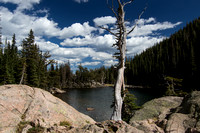 Dream Lake-Rocky Mountain National Park.